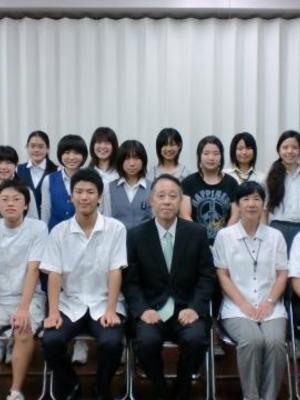 青梅市立泉中学校の制服写真(No.13665)