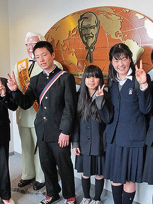 青梅市立東中学校の制服写真(No.13675)