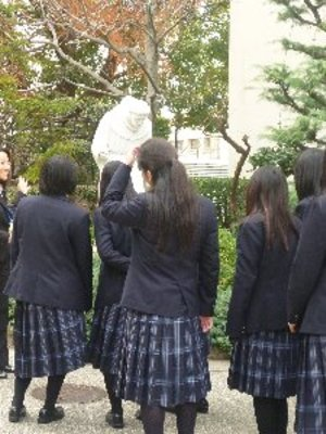 兵庫県立東灘高校の制服写真(No.66057)