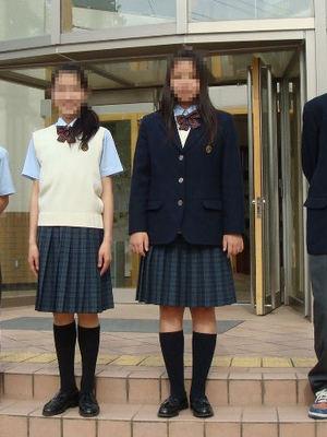 兵庫県立東灘高校の制服写真(No.66061)