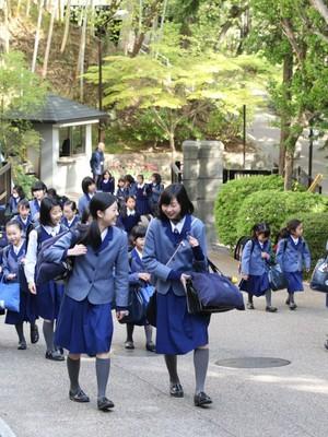 小林聖心女子学院小学校・中学校・高校の制服写真(No.79019) | 中学校 ...