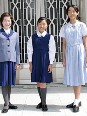 小林聖心女子学院小学校・中学校・高校の制服写真(No.79020)