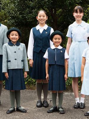 小林聖心女子学院小学校・中学校・高校の制服写真(No.79022)