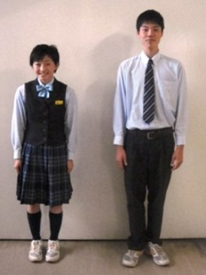 愛媛県立宇和島南中等教育学校の制服写真(No.84131)