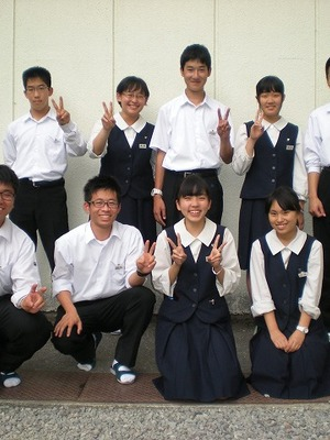 宮崎県立宮崎大宮高校の制服写真(No.93760)   中学校高校制服ランキング